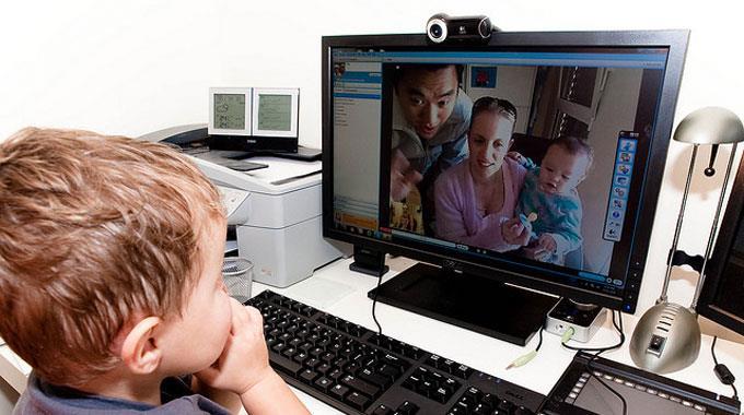 Skype на компьютере
