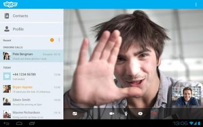 Skype на Samsung